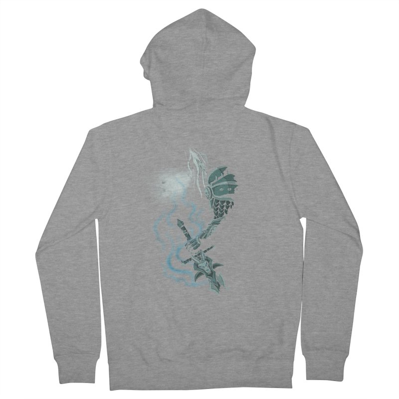 DeathKnight Men's French Terry Zip-Up Hoody by bobygates's Artist Shop
