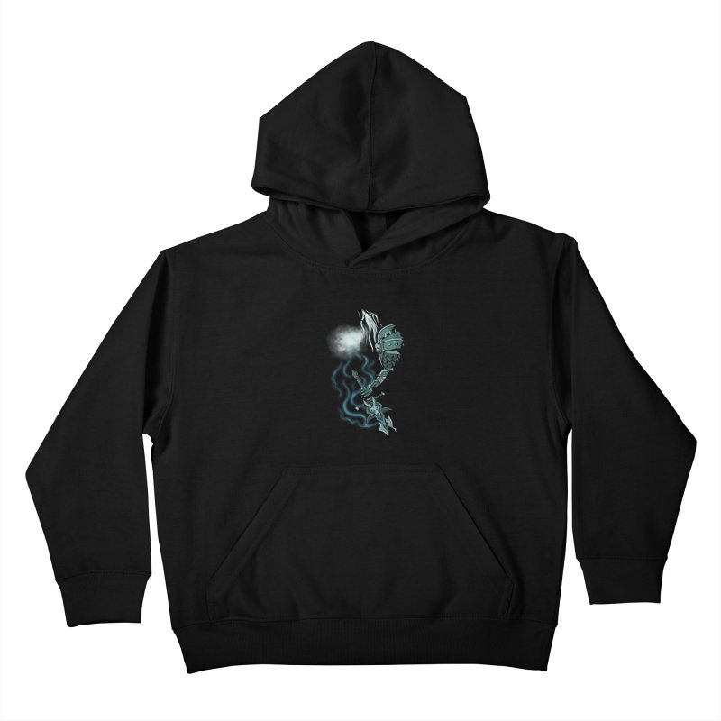 DeathKnight Kids Pullover Hoody by bobygates's Artist Shop