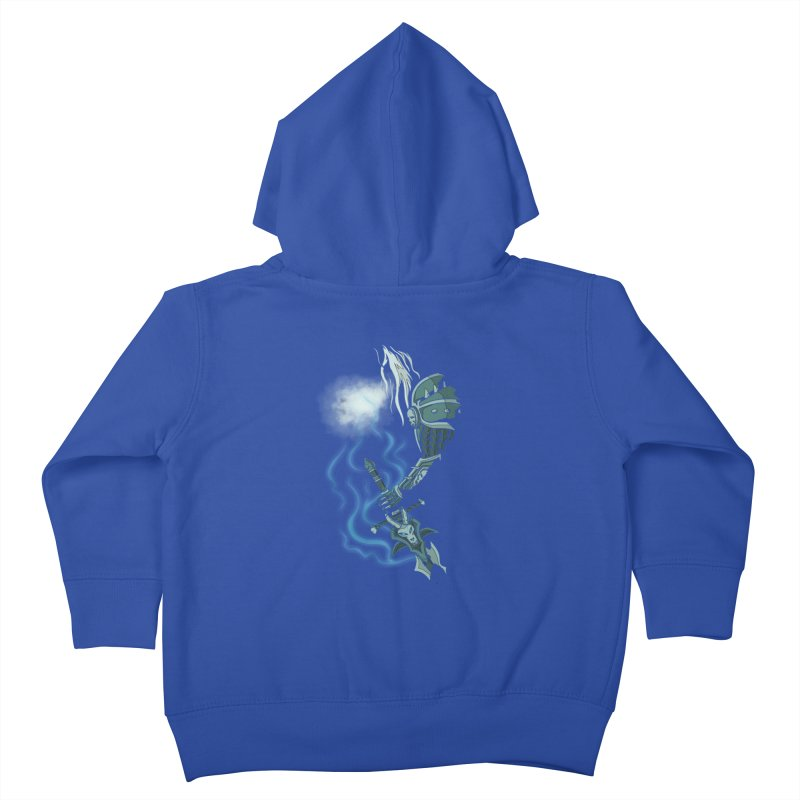 DeathKnight Kids Toddler Zip-Up Hoody by bobygates's Artist Shop
