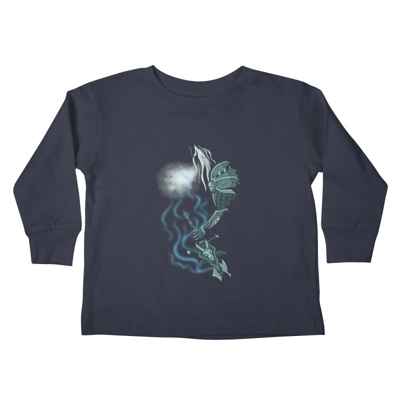 DeathKnight Kids Toddler Longsleeve T-Shirt by bobygates's Artist Shop
