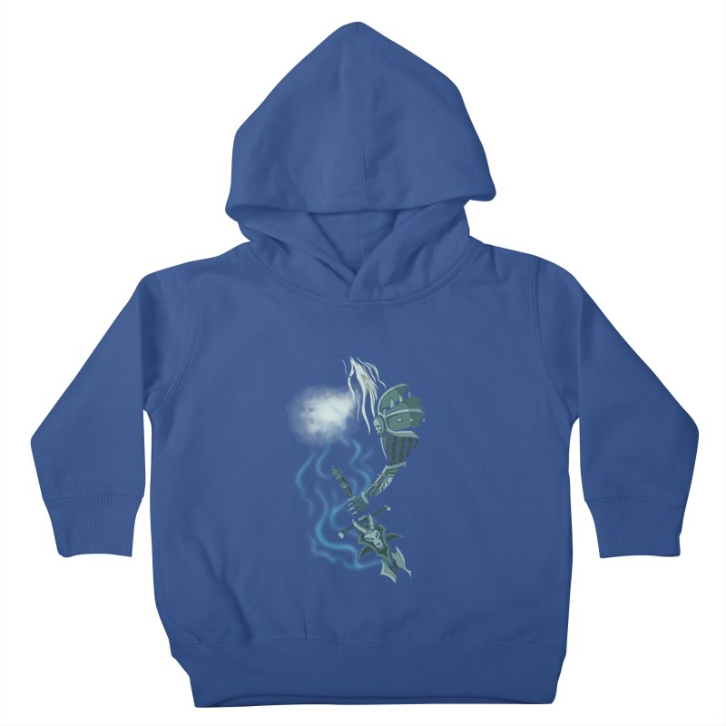 DeathKnight Kids Toddler Pullover Hoody by bobygates's Artist Shop