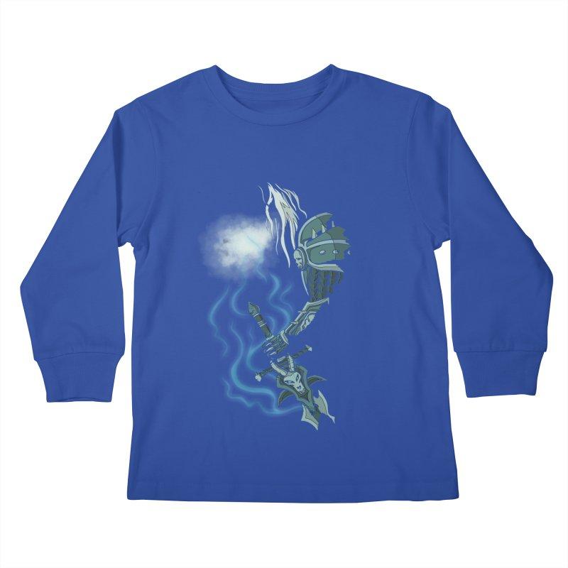 DeathKnight Kids Longsleeve T-Shirt by bobygates's Artist Shop