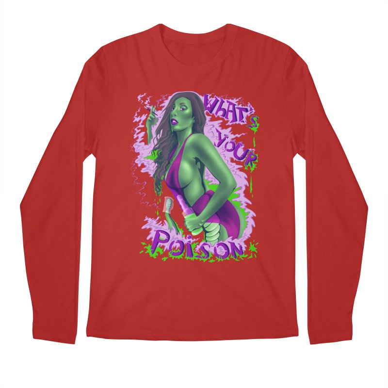 Poison Men's Longsleeve T-Shirt by bobygates's Artist Shop