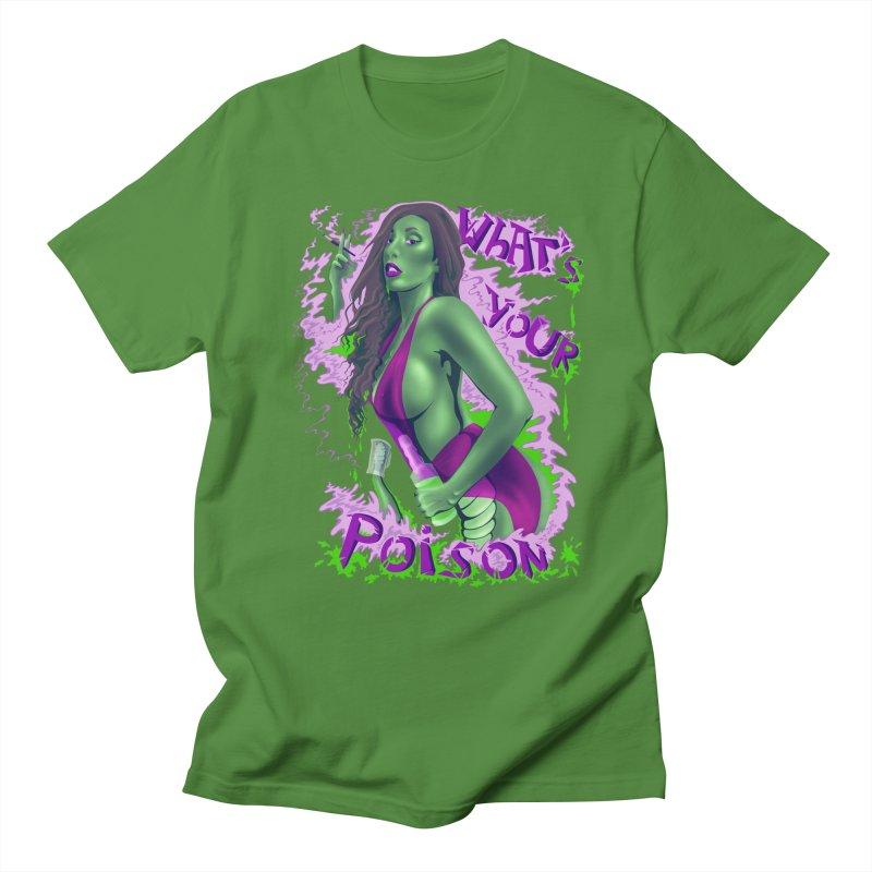Poison Men's T-shirt by bobygates's Artist Shop