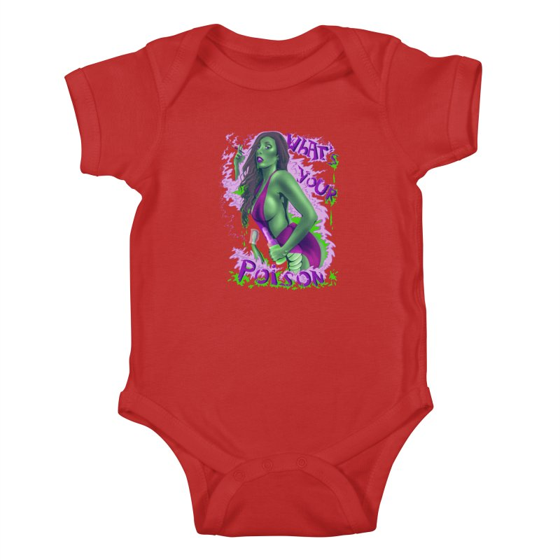 Poison Kids Baby Bodysuit by bobygates's Artist Shop