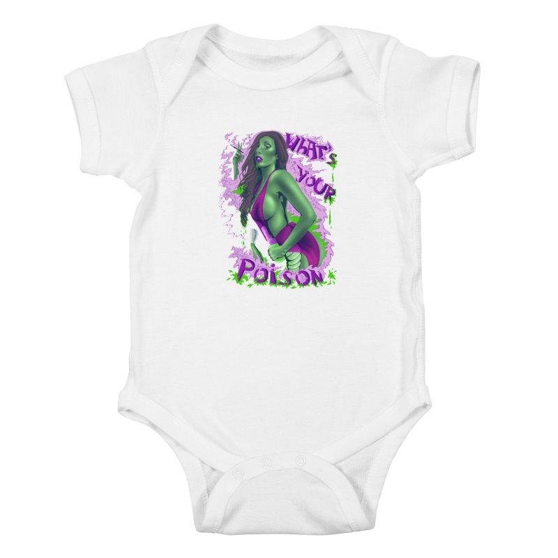Poison Kids Baby Bodysuit by bobygates's Artist Shop