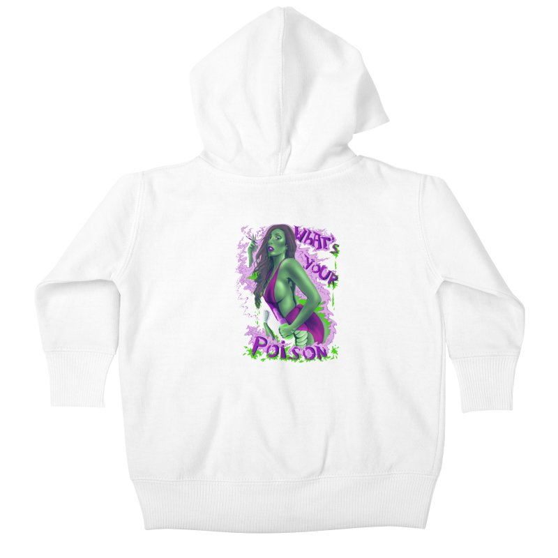 Poison Kids Baby Zip-Up Hoody by bobygates's Artist Shop