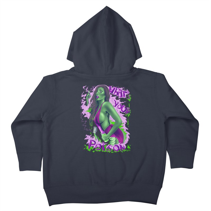 Poison Kids Toddler Zip-Up Hoody by bobygates's Artist Shop