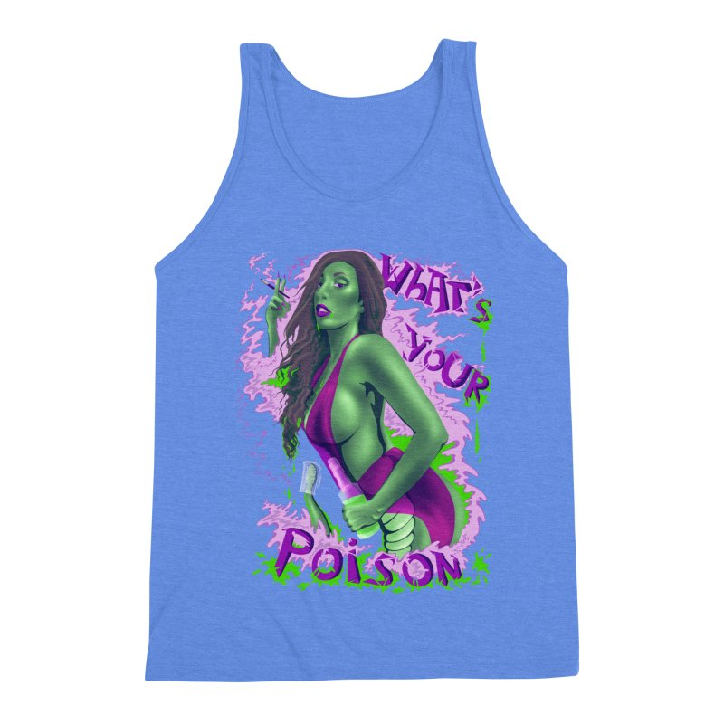 Poison Men's Triblend Tank by bobygates's Artist Shop