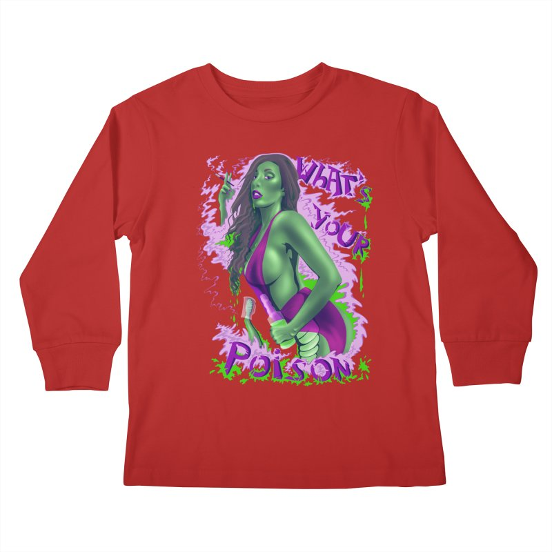 Poison Kids Longsleeve T-Shirt by bobygates's Artist Shop
