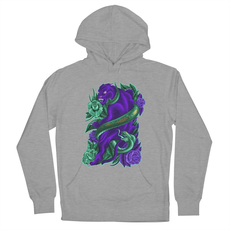 Panther&Snake Women's French Terry Pullover Hoody by bobygates's Artist Shop