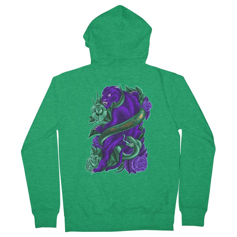 Panther&Snake Women's Zip-Up Hoody by bobygates's Artist Shop