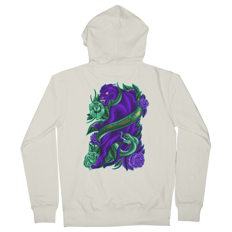 Panther&Snake Men's Zip-Up Hoody by bobygates's Artist Shop