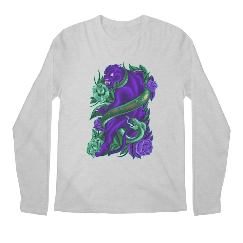 Panther&Snake Men's Longsleeve T-Shirt by bobygates's Artist Shop