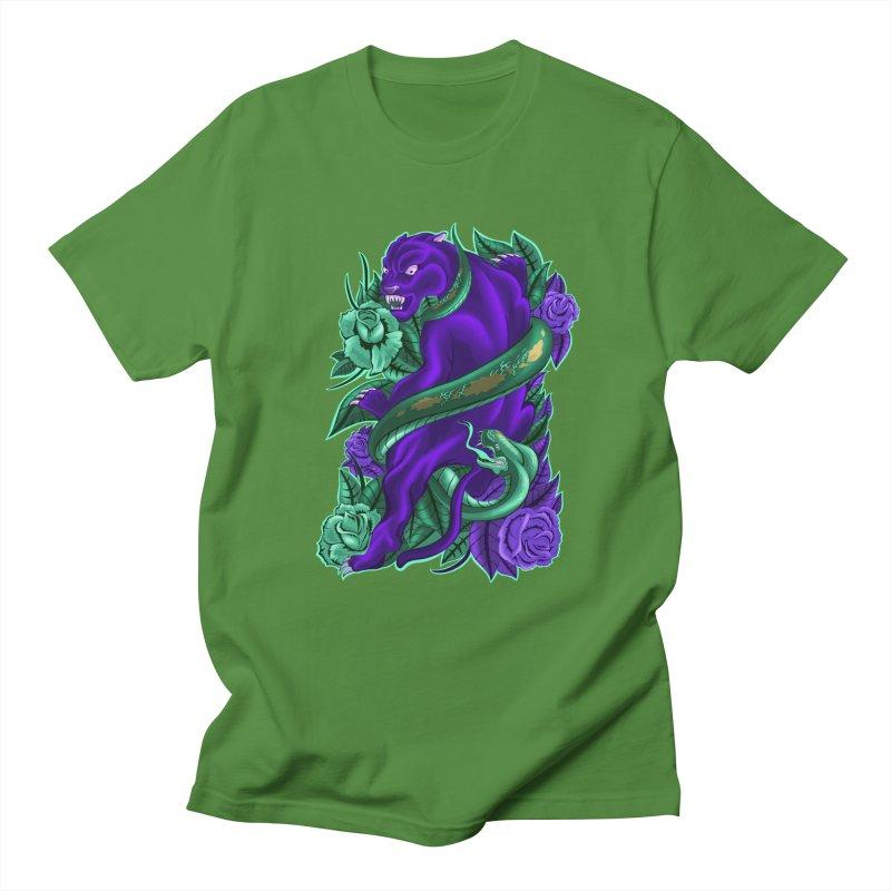 Panther&Snake Men's Regular T-Shirt by bobygates's Artist Shop