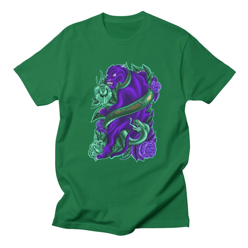 Panther&Snake Men's T-Shirt by bobygates's Artist Shop