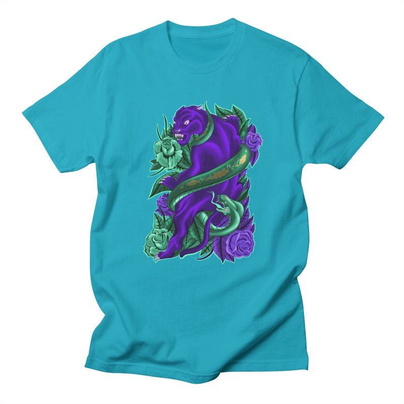 Panther&Snake Men's T-shirt by bobygates's Artist Shop