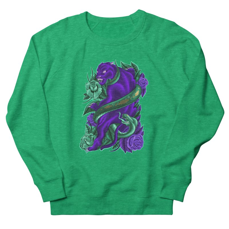Panther&Snake Women's French Terry Sweatshirt by bobygates's Artist Shop