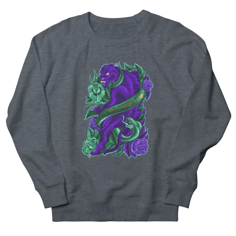 Panther&Snake Men's French Terry Sweatshirt by bobygates's Artist Shop