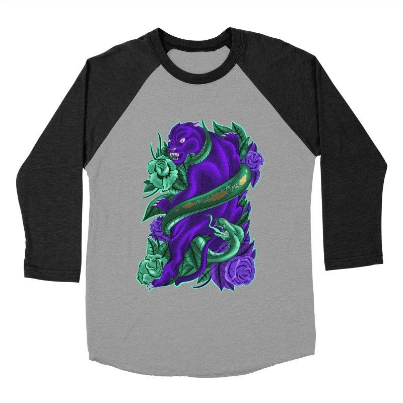 Panther&Snake Men's Baseball Triblend T-Shirt by bobygates's Artist Shop