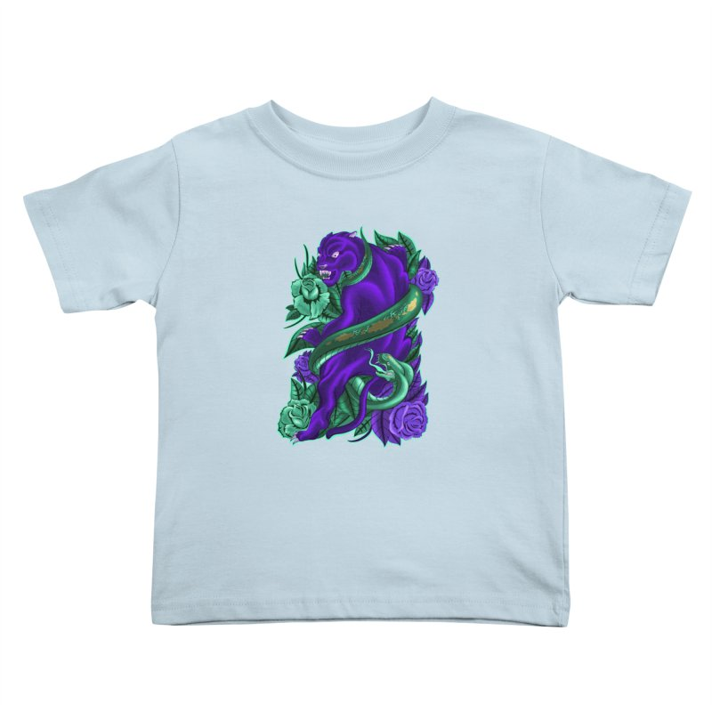 Panther&Snake Kids Toddler T-Shirt by bobygates's Artist Shop