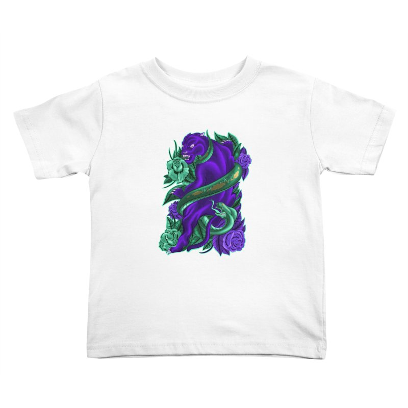 Panther&Snake Kids Toddler T-Shirt by bobygates's Artist Shop