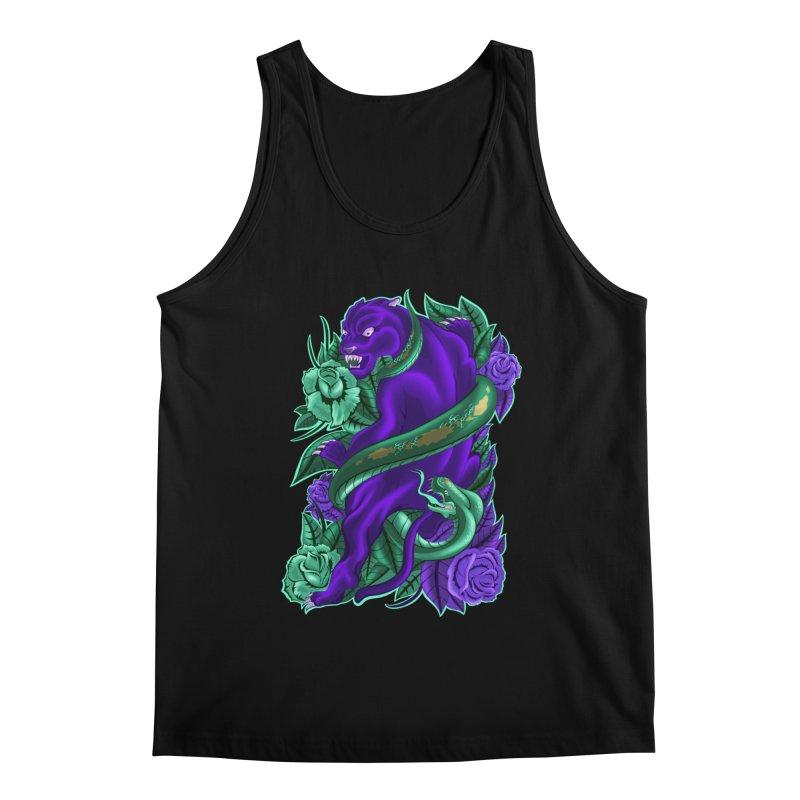 Panther&Snake Men's Tank by bobygates's Artist Shop