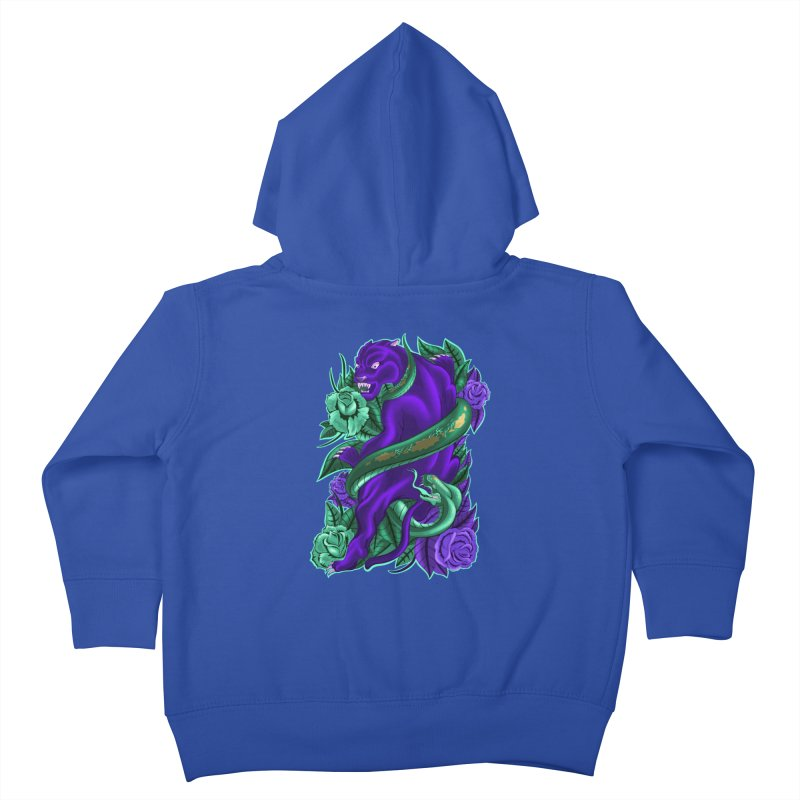Panther&Snake Kids Toddler Zip-Up Hoody by bobygates's Artist Shop