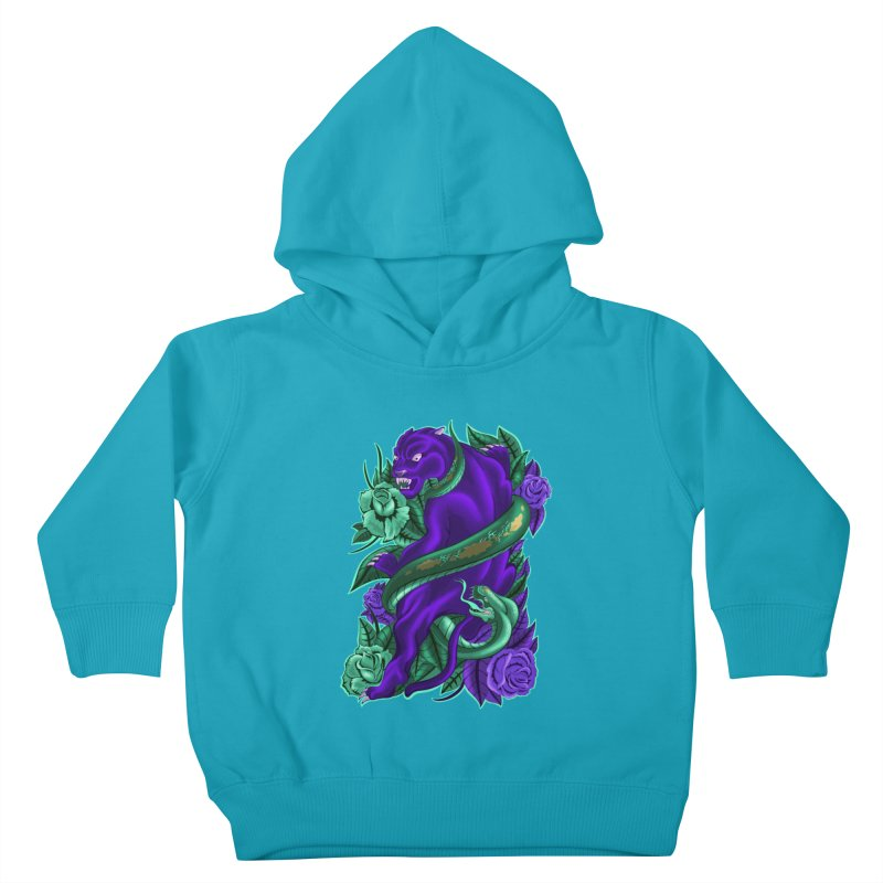 Panther&Snake Kids Toddler Pullover Hoody by bobygates's Artist Shop