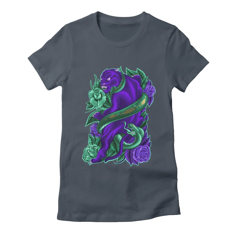 Panther&Snake Women's T-Shirt by bobygates's Artist Shop