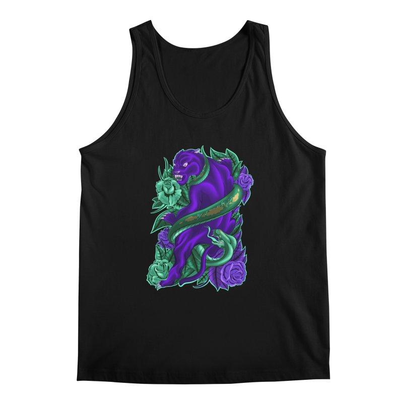 Panther&Snake Men's Regular Tank by bobygates's Artist Shop