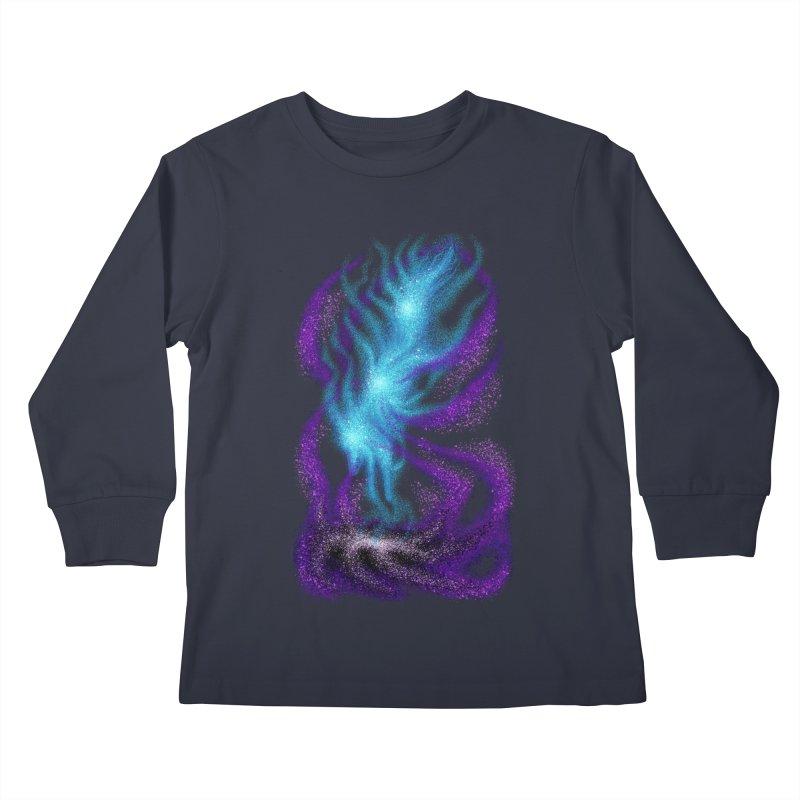 Fox Dimension Kids Longsleeve T-Shirt by bobygates's Artist Shop