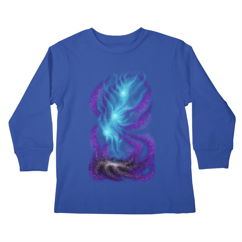 Fox Dimension Kids Longsleeve T-Shirt by bobygates's Artist Shop