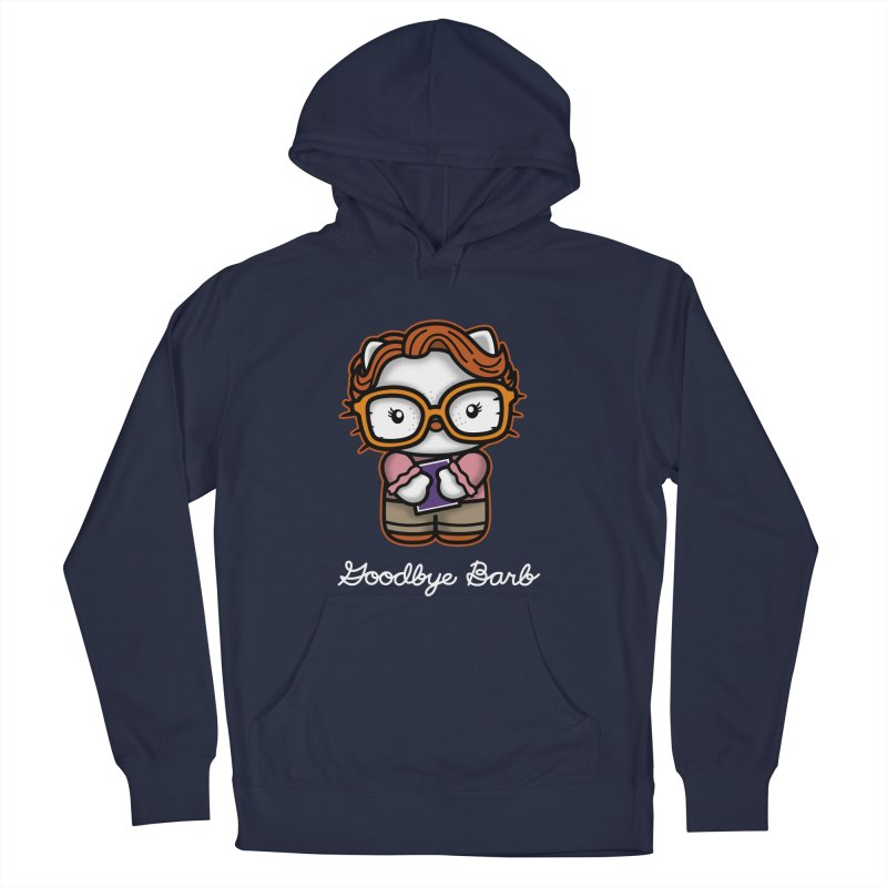 Goodbye Barb Women's Pullover Hoody by boggsnicolas's Artist Shop