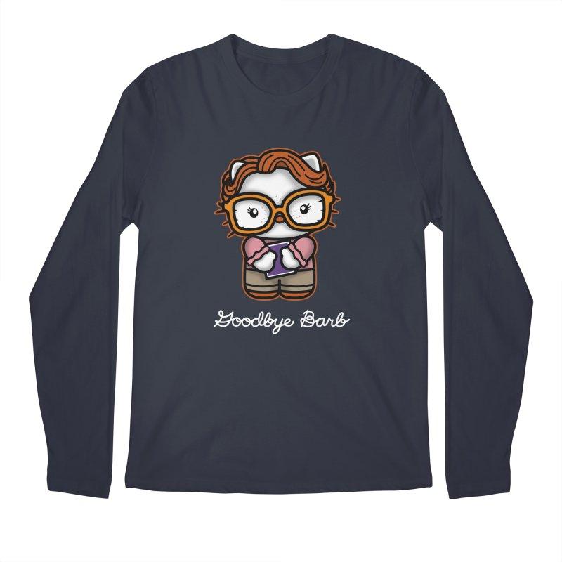 Goodbye Barb Men's Longsleeve T-Shirt by boggsnicolas's Artist Shop
