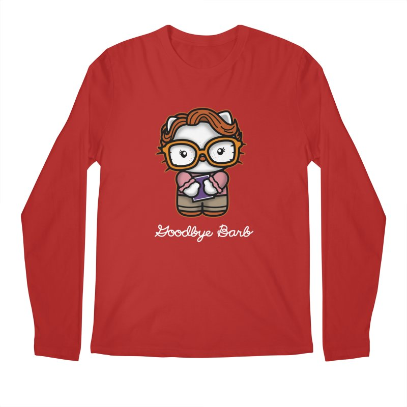 Goodbye Barb Men's Longsleeve T-Shirt by boggsnicolas's Artist Shop