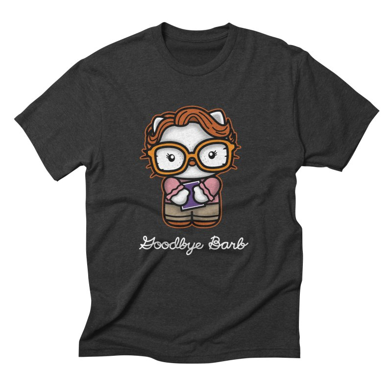 Goodbye Barb Men's Triblend T-shirt by boggsnicolas's Artist Shop