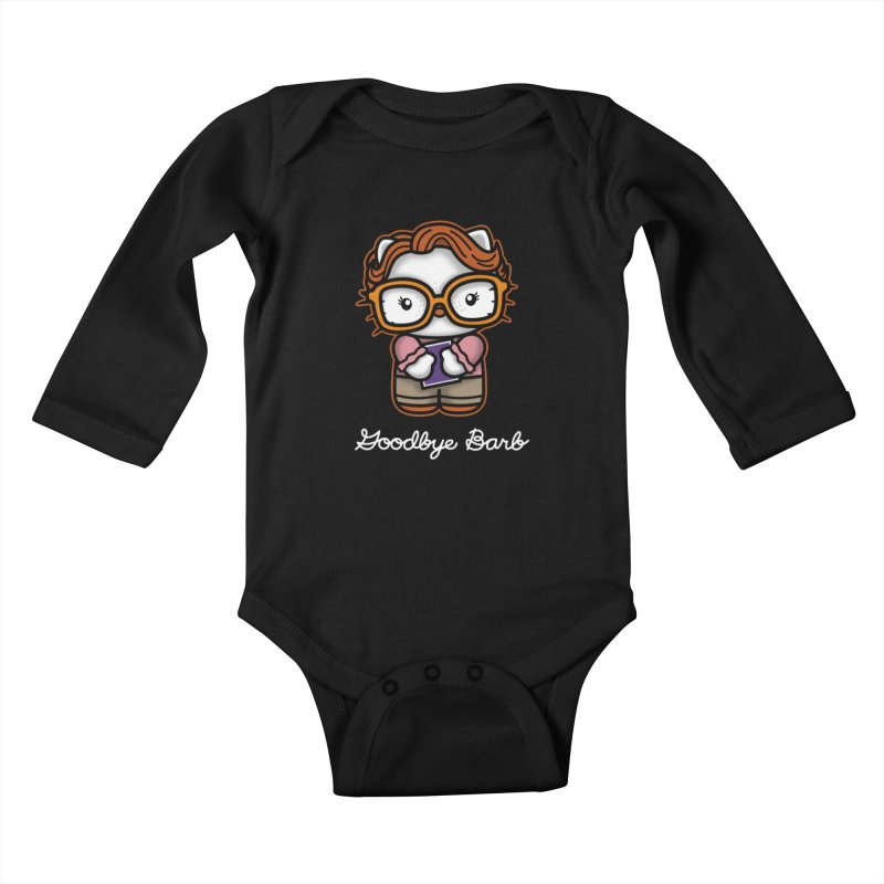 Goodbye Barb Kids Baby Longsleeve Bodysuit by boggsnicolas's Artist Shop