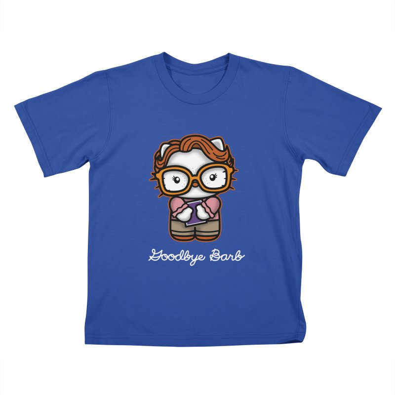 Goodbye Barb Kids T-Shirt by boggsnicolas's Artist Shop