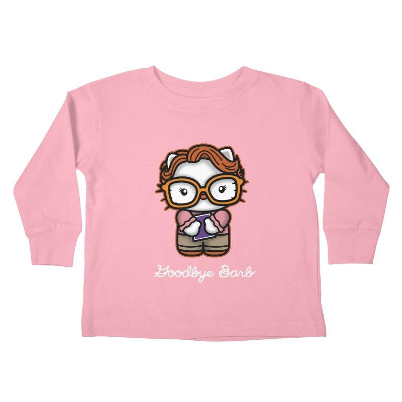 Goodbye Barb Kids Toddler Longsleeve T-Shirt by boggsnicolas's Artist Shop