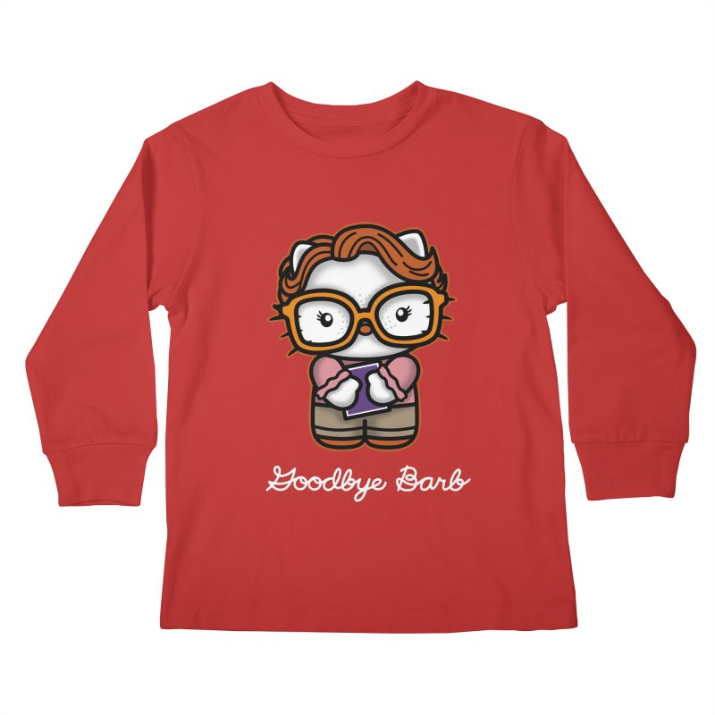 Goodbye Barb Kids Longsleeve T-Shirt by boggsnicolas's Artist Shop