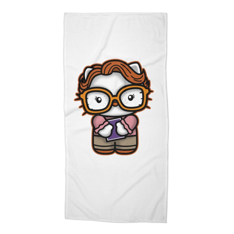 Goodbye Barb Accessories Beach Towel by boggsnicolas's Artist Shop