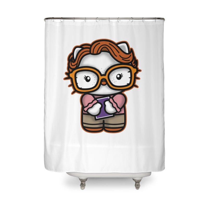 Goodbye Barb Home Shower Curtain by boggsnicolas's Artist Shop