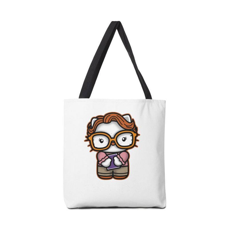 Goodbye Barb Accessories Bag by boggsnicolas's Artist Shop