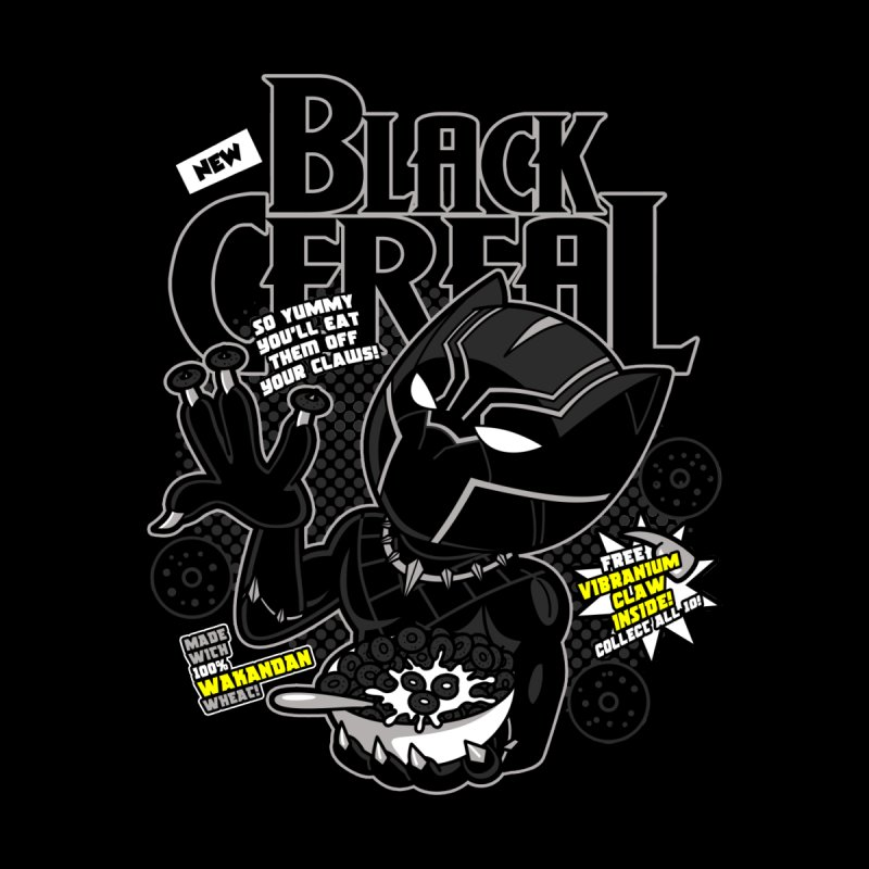 Black Cereal by boggsnicolas's Artist Shop