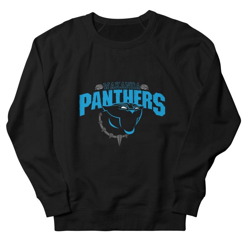 Wakanda Panthers Women's Sweatshirt by boggsnicolas's Artist Shop