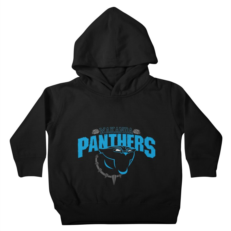 Wakanda Panthers Kids Toddler Pullover Hoody by boggsnicolas's Artist Shop