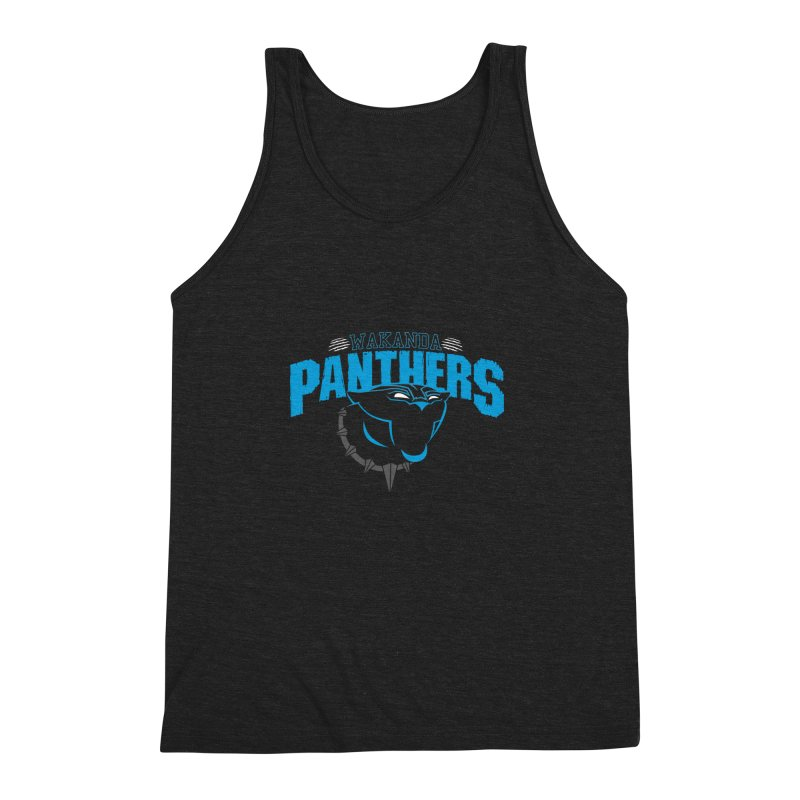 Wakanda Panthers Men's Triblend Tank by boggsnicolas's Artist Shop