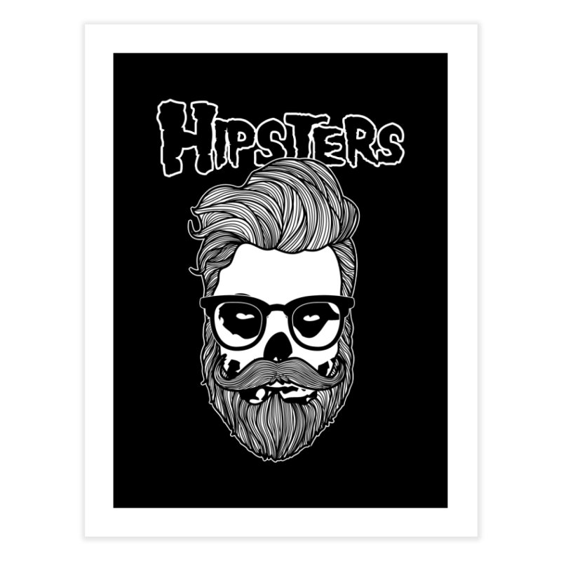 Hipsters Home Fine Art Print by boggsnicolas's Artist Shop