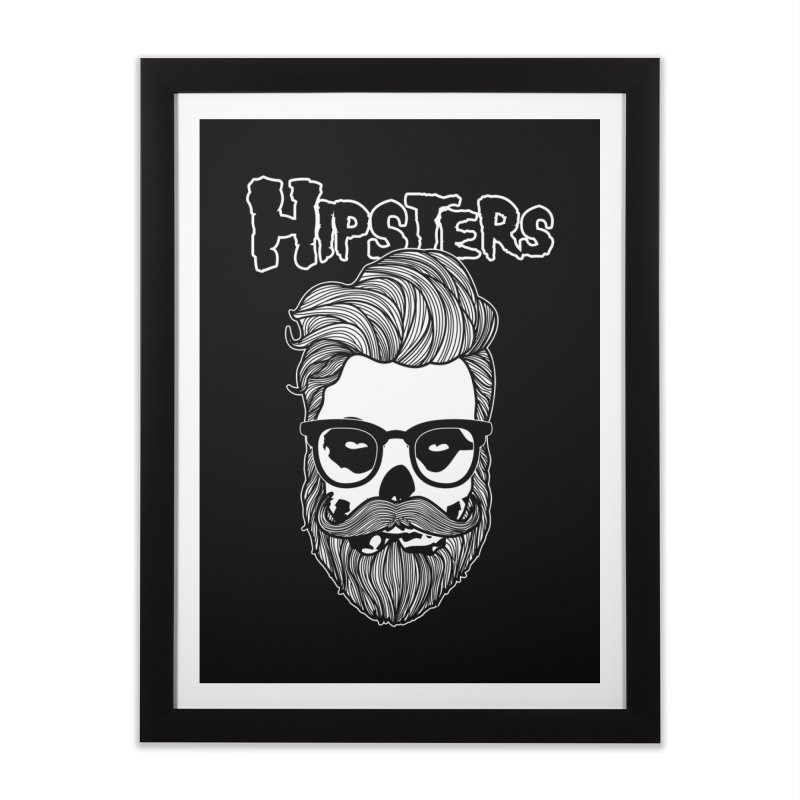 Hipsters Home Framed Fine Art Print by boggsnicolas's Artist Shop